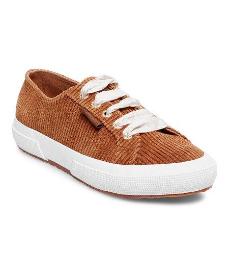 Superga Cognac Corduroy Sneaker - Women