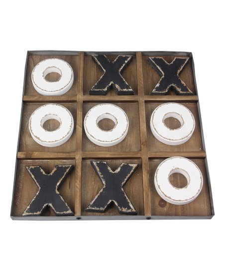 Wood Tic Tac Toe Set Zulily