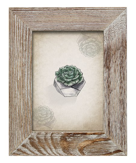 Bp Industries Weathered Brown 5 X 7 Barnwood Frame Zulily