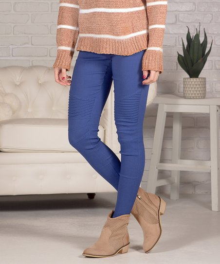 Royal Pocket Moto Jeggings   Women by Contagious