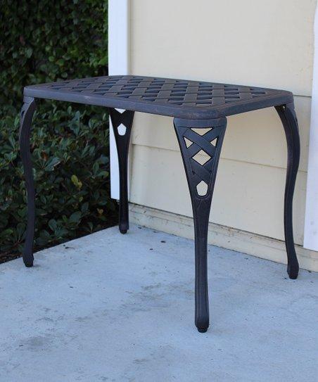 Cast Aluminum Coffee Table