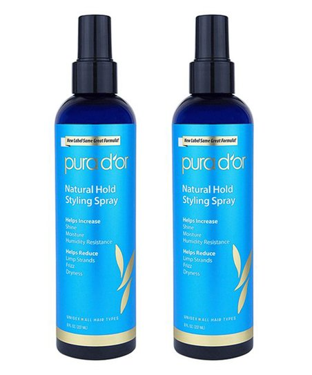 Pura Dor Argan Oil Hair Loss Prevention Therapy Natural Hold Styling