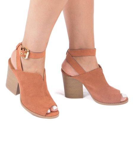 Qupid Hazel Barnes Peep Toe Sandal Women Zulily
