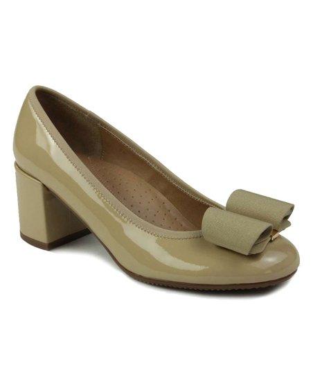 933315a6663 VANELi® Ecru Zemora Patent Leather Pump - Women