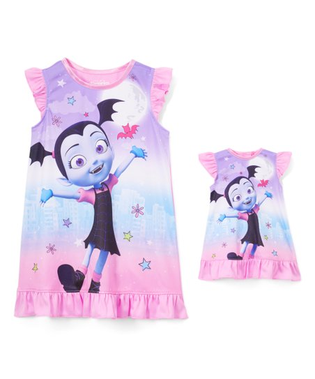 a9b7bce34 love this product Vampirina Pink & Purple Nightgown - Toddler
