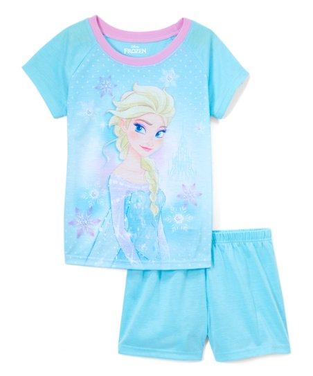 121652cfe2989 love this product Frozen Ice Blue Elsa Pajama Set - Girls