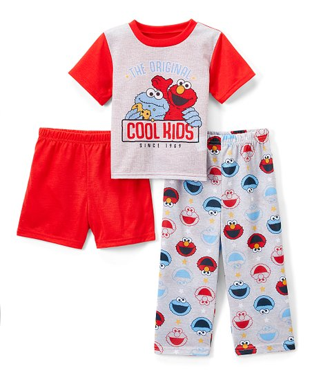 13ae6a0521 love this product Sesame Street Elmo   Cookie Monster  Cool Kids  Pajama Set  - Infant