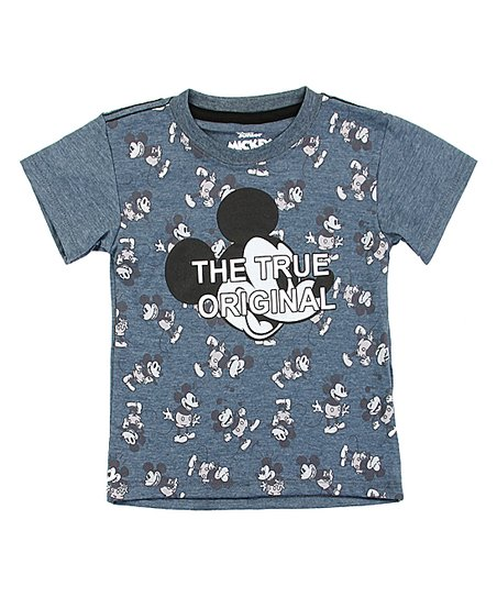 06c048f6b love this product Mickey Mouse Charcoal 'The True Original' Crewneck Tee -  Toddler