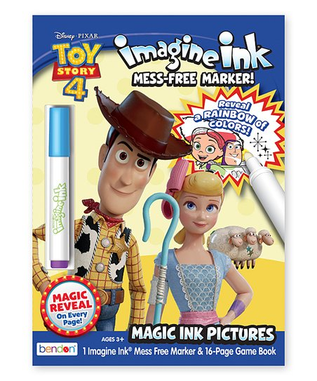 Bendon Publishing International, Inc. Toy Story 4 Imagine Ink Coloring Book  Best Price And Reviews Zulily