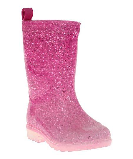 Glitter Jelly Rain Boot - Girls
