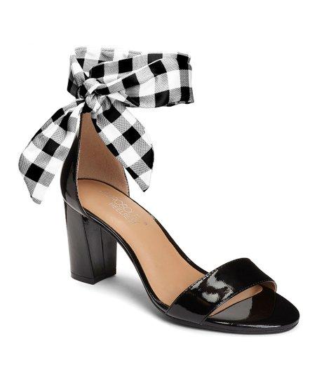 344cb411c0b8d Aerosoles Black Gingham-Tie Bird Of Paradise Sandal - Women