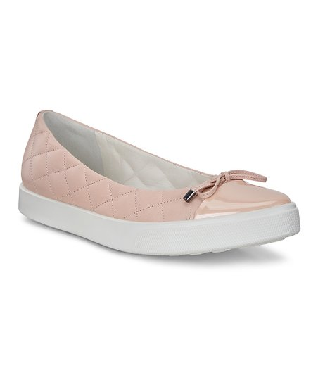 ECCO Rose Dust Gillian Leather Ballerina Sneaker - Women