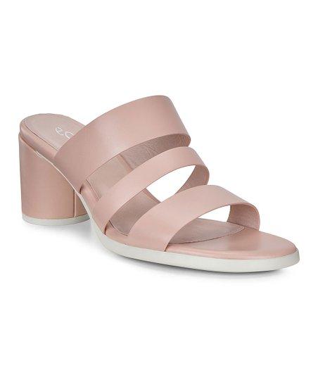 size 40 first look special sales ECCO Rose Dust Block-Heel Shape 65 Leather Sandal - Women ...