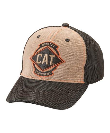 ac94026325f CAT Bronze Power Mesh Stretch Trucker Hat