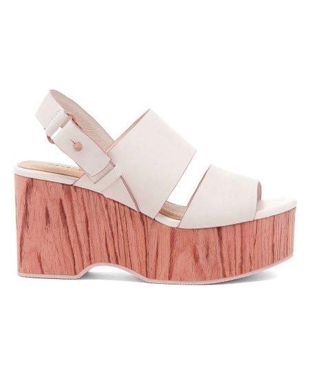 a361c52ee56 Kelsi Dagger Brooklyn Off-White Nash Platform Leather Sandal - Women ...