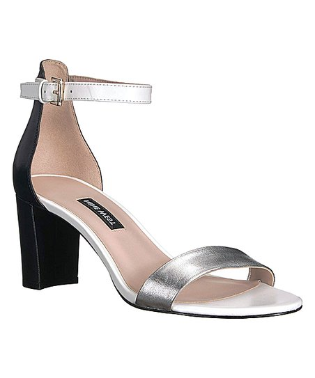 63f2ea45703 love this product Black   Silver Ankle-Strap Pruce Sandal - Women