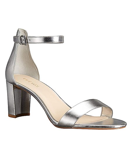 ebf00f1c2db love this product Metallic Silver Ankle-Strap Pruce 3 Sandal - Women