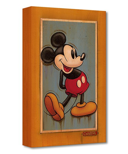 Mickey Mouse My Pal Wall Decor Wood Wall Hanging