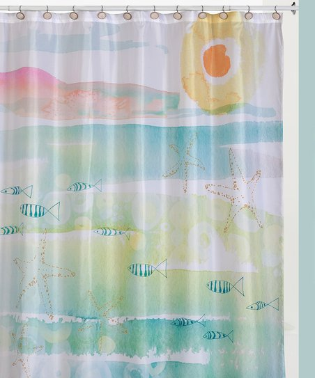 Love This Product Turquoise Pink Fish Shower Curtain