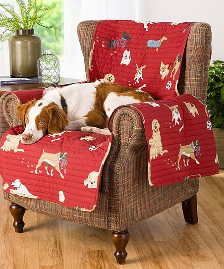 Incredible Plow Hearth Red Quilted Dog Park Chair Cover Zulily Gmtry Best Dining Table And Chair Ideas Images Gmtryco