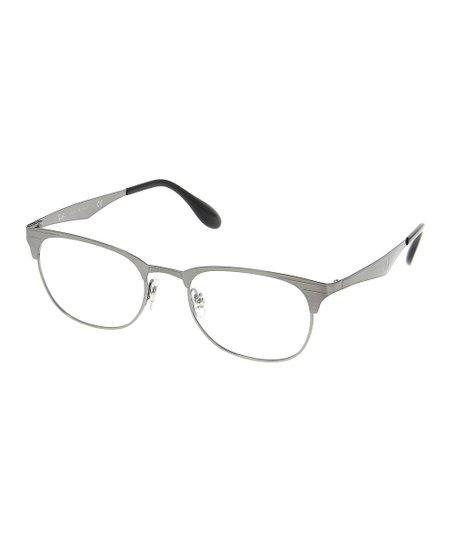 3cba355c7dba Ray-Ban Gunmetal Browline Eyeglasses - Unisex