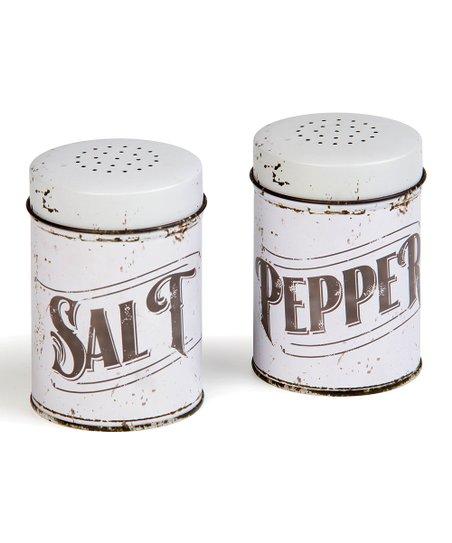 Design Farmhouse Salt Pepper Shakers