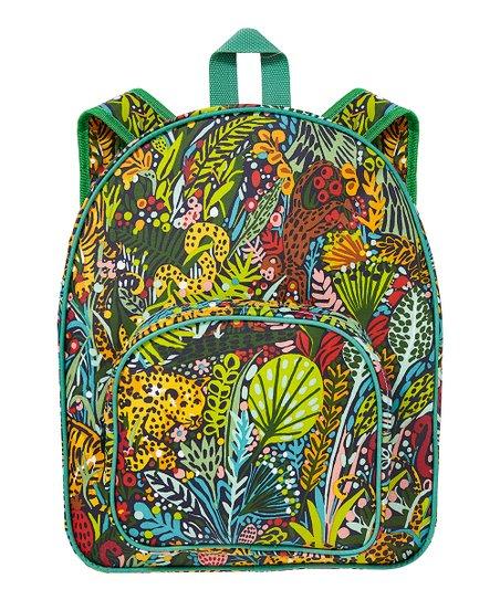 Ulster Weavers Green   Yellow Menagerie Backpack  abb0e99ffa824