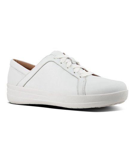 f566e9a0c54d9f love this product Urban White F-Sporty II Leather Sneaker - Women