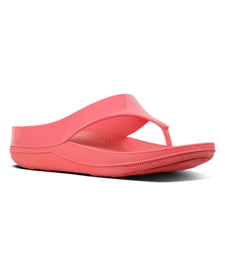 ab32813c1 love this product Sunshine Coral Ringer Welljelly Plain Sandal - Women