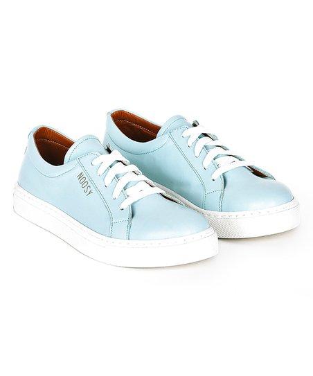 NOOSY Light Blue Leather Sneaker