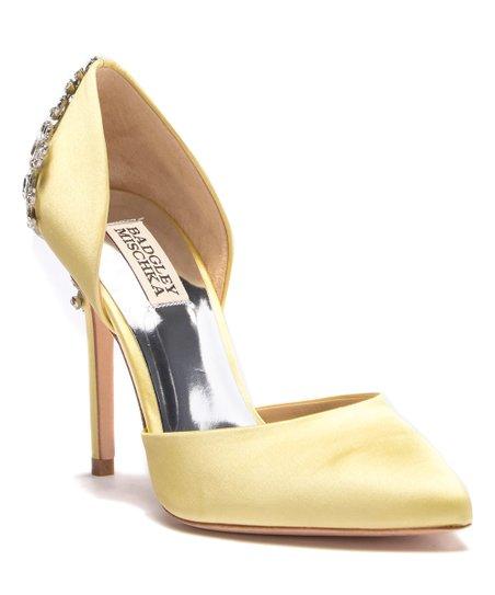 9e4e05799c0e love this product Yellow Karma Satin D Orsay Pump - Women
