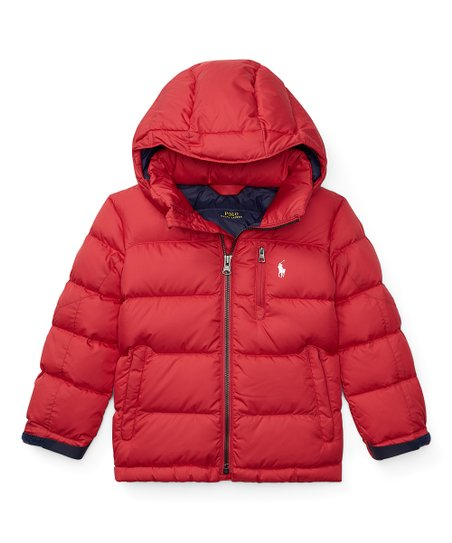 love this product Polo Sport Red Puffer Coat - Boys d3621d91ee