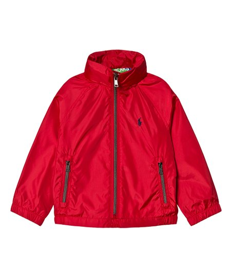 108cc353eb Ralph Lauren Polo Sport Red Plainweave Windbreaker - Toddler