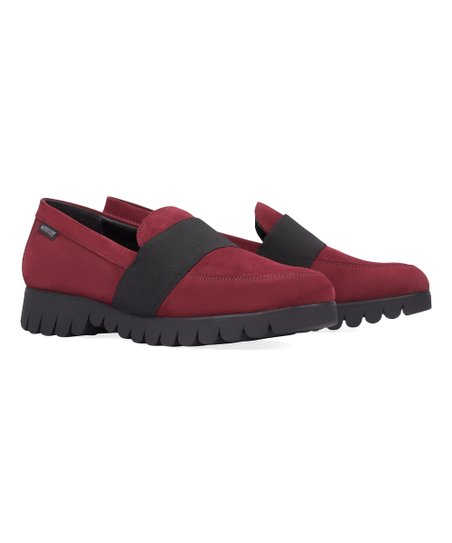 f55de560719 love this product Medium Red Loriane Nubuck Loafer - Women