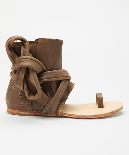 aa1c42d25 love this product Taupe Delaney Leather Boot Sandal - Women