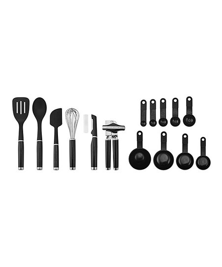 KitchenAid Black 15-Piece Tool & Gadget Set