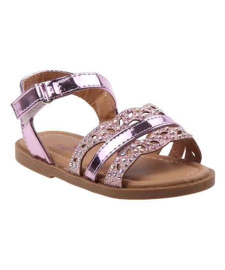 8a49f7cf94cea5 love this product Pink Sparkle Sandals - Girls