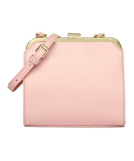 be842268806b love this product Pink   Goldtone Frame Crossbody Bag