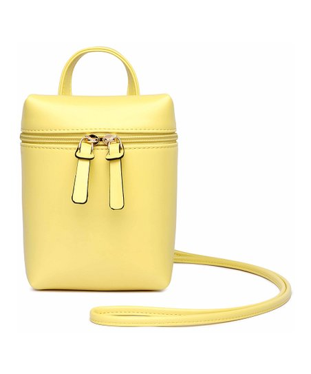a923dae2191d love this product Yellow Rectangular Crossbody Bag