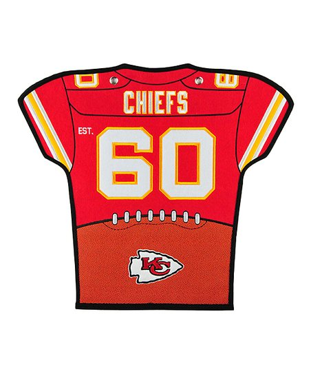 Winning Streak Sports Kansas City Chiefs Jersey Banner | Zulily