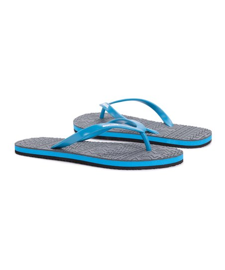 6a86320bde51 love this product Gray   Blue Peri Flip-Flop - Women