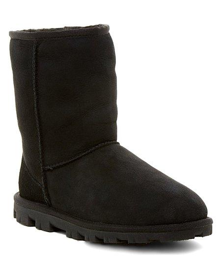 65d42122ccd UGG® Black Essential Short Suede Boot - Women | Zulily