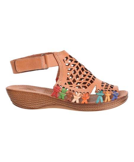 21a10ec1b44 Playera Cinnamon Ankle-Strap Leather Huaraches Sandal - Women