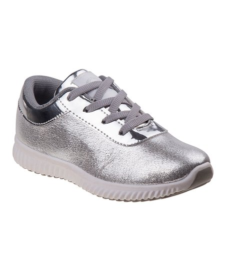 7f40c44040 Beverly Hills Polo Club Silver Sneaker - Girls