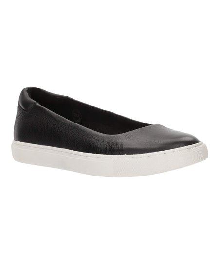 cb877dc01fec0 Kenneth Cole New York Black Kassie Leather Slip-On Sneaker - Women ...