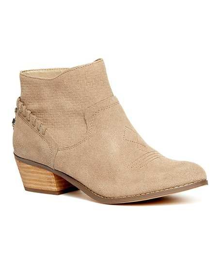 1d6bf360bba3 Yellow Box Shoes Taupe Pueblo Suede Bootie - Women