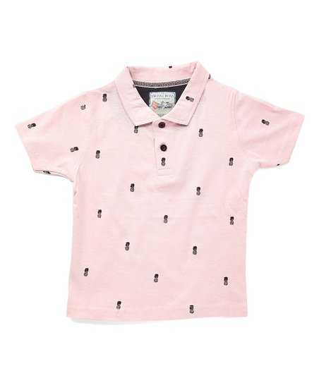 e6b42381c Swiss Cross Pink Pineapple Polo - Toddler | Zulily