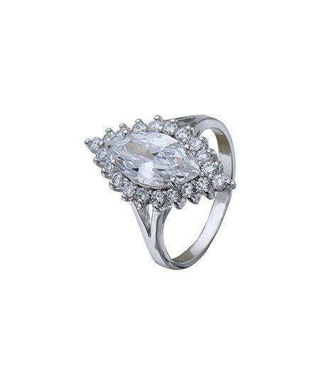 ff352ff46 love this product Sterling Silver Marquise Spike Ring With Swarovski®  Crystals
