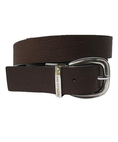 bc93509e389 Adrienne Vittadini® Brown   Black Reversible Faux Leather Belt