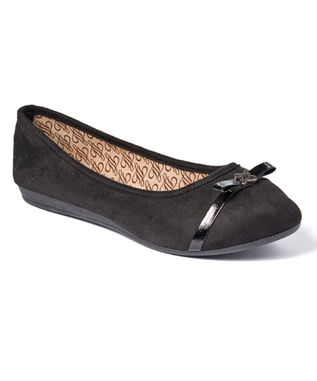 cc292b2dd54a love this product Black Alona Wide-Fit Ballet Flat - Women
